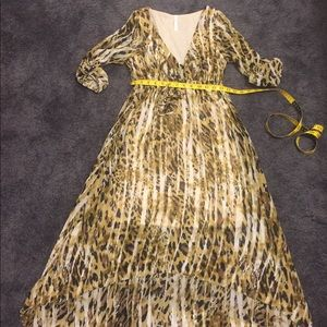 Animal / Leopard print Young at Heart dress